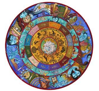 Mosaic on Oneg Floor